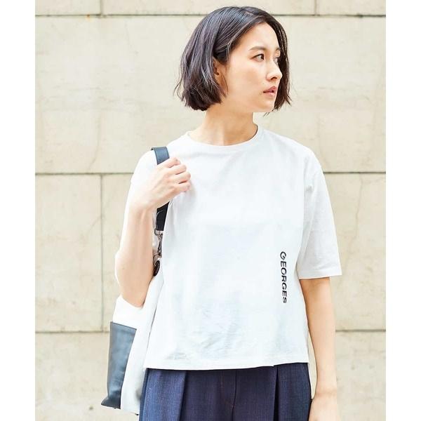 【新色追加】【洗える】シンプルロゴTシャツ/ジョルジュ・レッシュ(GEORGES RECH)