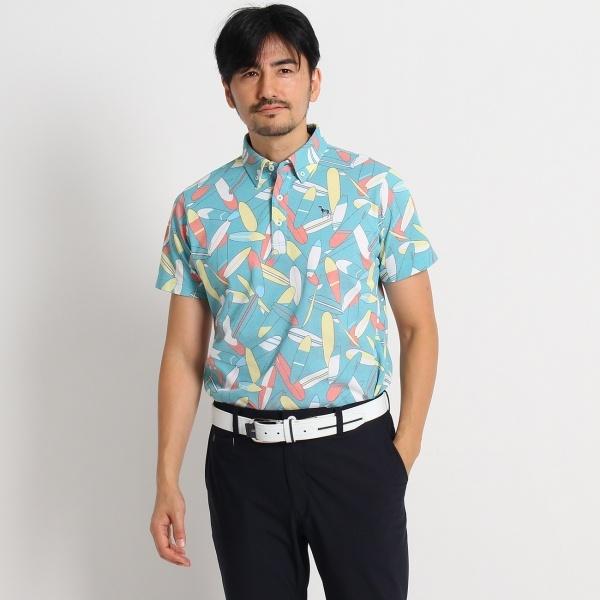 MTシャツ(サーフボードプリント半袖ポロシャツ)/アダバット(メンズ)(adabat(Mens))