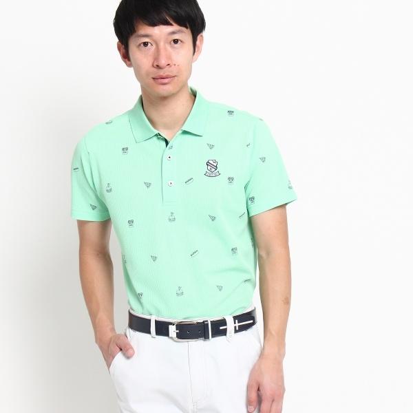 MTシャツ(【UVカット】【吸水速乾】ジャンクフードプリント半袖ポロ)/アダバット(メンズ)(adabat(Mens))