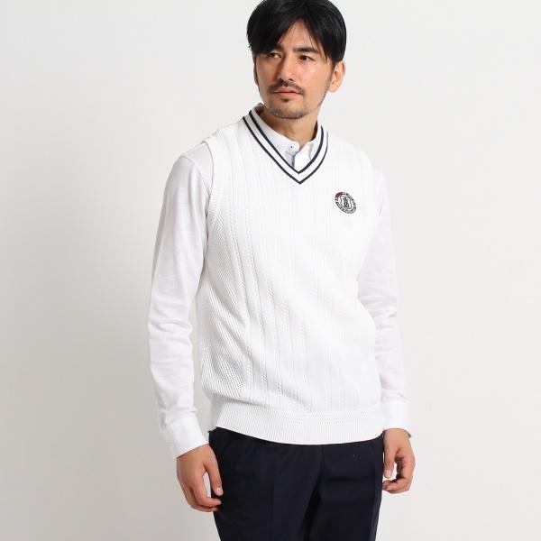 MTシャツ(脇メッシュニットベスト)/アダバット(メンズ)(adabat(Mens))