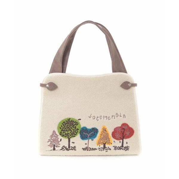 Bosque パイル刺繍バッグ/ホコモモラ(JOCOMOMOLA)