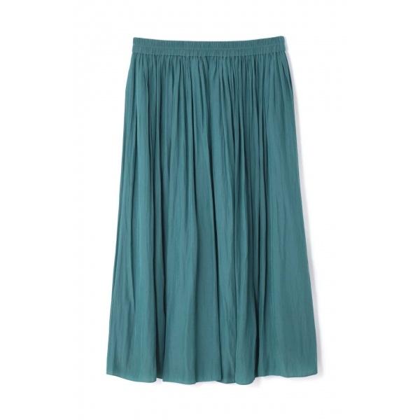 ◆大きいサイズ◆割繊ロングギャザースカート/アリスバーリー(Lサイズ)(Aylesbury)