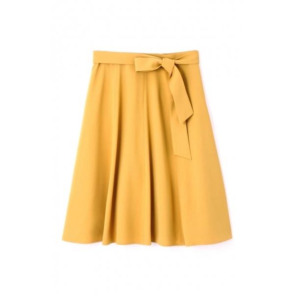 ◆大きいサイズ◆リボン付はぎフレアスカート◆/アリスバーリー(Lサイズ)(Aylesbury)