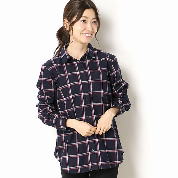 フランネルウインドウペンチェックシャツ/エーグル(AIGLE)