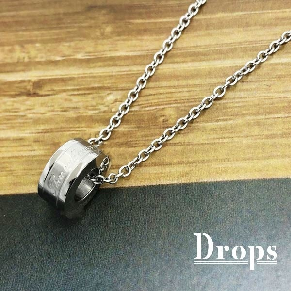 ベーシックリングネックレス/ドロップス(Drops)