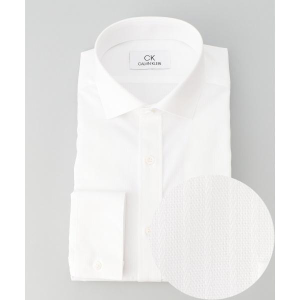 【2018AW】リファインドコットンドビーストライプ シャツ/カルバン・クライン メン(Calvin Klein men)