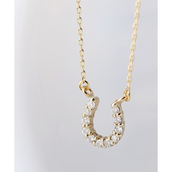 11粒ダイヤモンドの馬蹄ネックレス/シエナロゼ(SIENA ROSE)