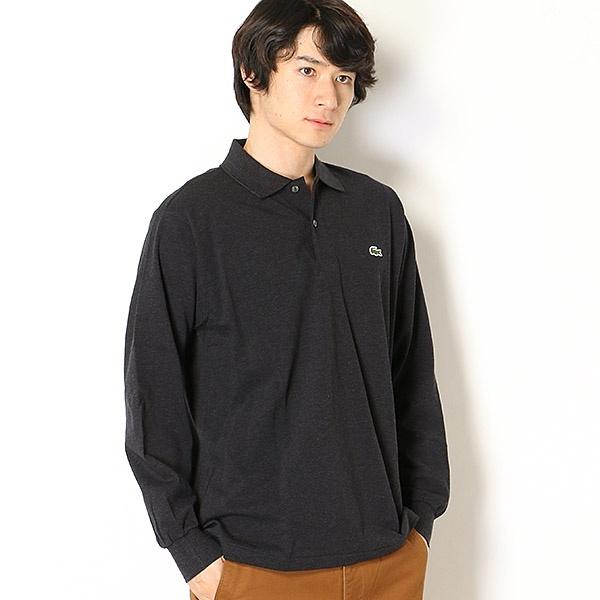 ラコステ 定番長袖杢糸ポロシャツ(長袖)/ラコステ(LACOSTE)