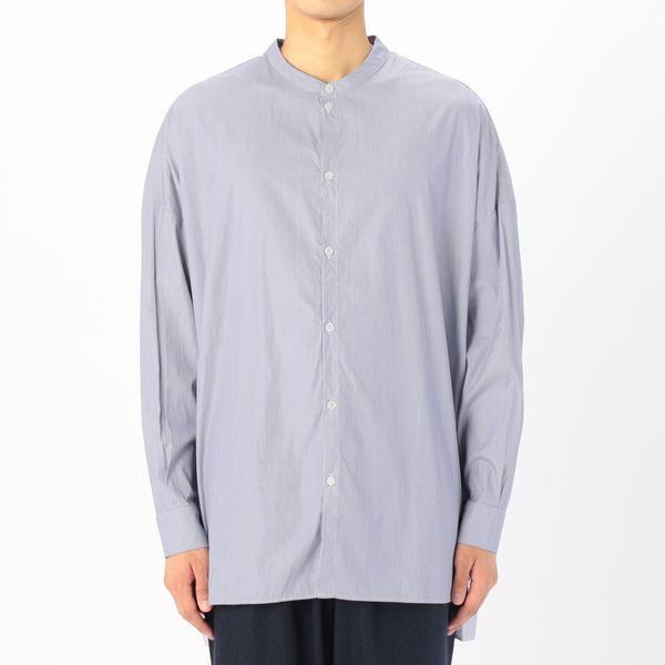 【GALLEGO DESPORTES】〈別注〉バンドカラーシャツ MEN/ビショップ(メンズ)(Bshop)