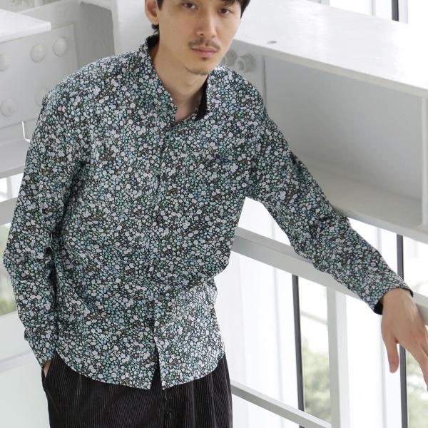 LIBERTY FABRICプリントシャツ/タケオキクチ(TAKEO KIKUCHI)