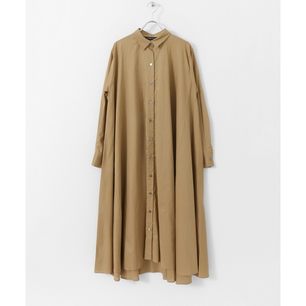 レディスワンピース(mizuiro-ind flared shirt one-piece)/アーバンリサーチ ドアーズ(レディース)(URBAN RESEARCH DOORS)