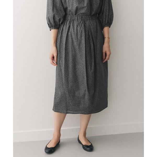 レディススカート(mizuiro-ind×DOORS 別注 front tucked skirt)/アーバンリサーチ ドアーズ(レディース)(URBAN RESEARCH DOORS)