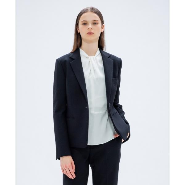 【2018AW COLLECTION】ドライタッチウール テーラードジャケット/カルバン・クライン ウィメン(Calvin Klein women)