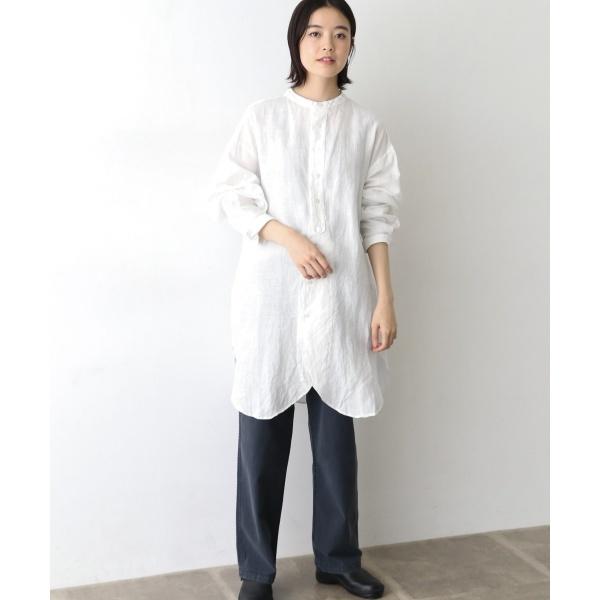 レディスシャツ(Vlas Blomme チュニックシャツ)/かぐれ(kagure)