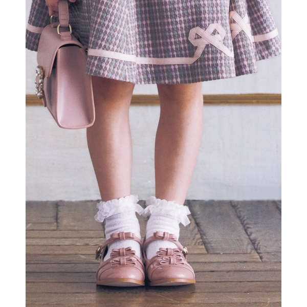 【KIDS雑貨】リボンフラットシューズ/トッカ バンビーニ(TOCCA BAMBINI)