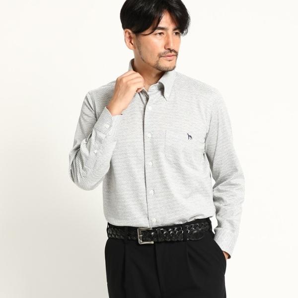 Mシャツ(アダバット×HITOYOSHI SHIRTS ボタンダウンシャツ メンズ)/アダバット(メンズ)(adabat(Mens))
