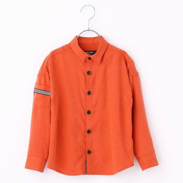 ミリタリーBIGサイズシャツ/コムサフィユ(COMME CA FILLE)
