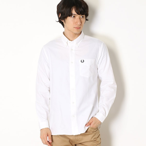 【18AW】CLASSIC OXFORD SHIRT/フレッドペリー(メンズ)(FRED PERRY)