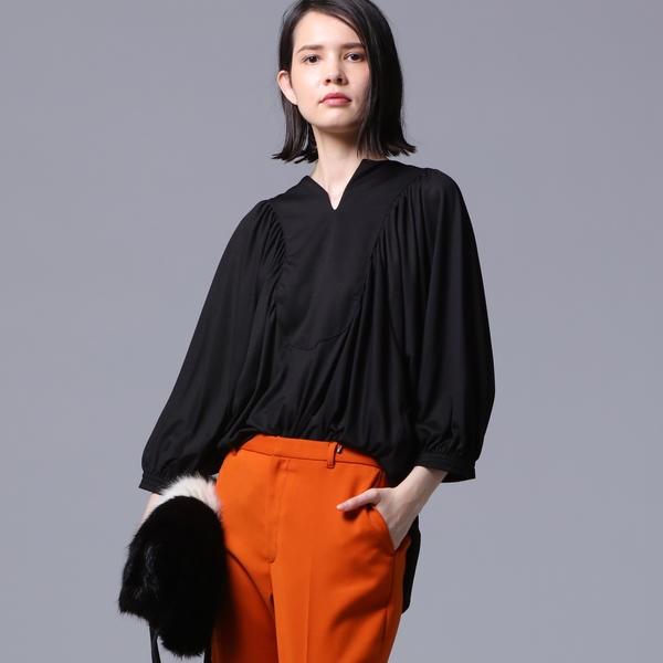 【洗濯機可能】ギャザーTシャツ/ベガ(vega)
