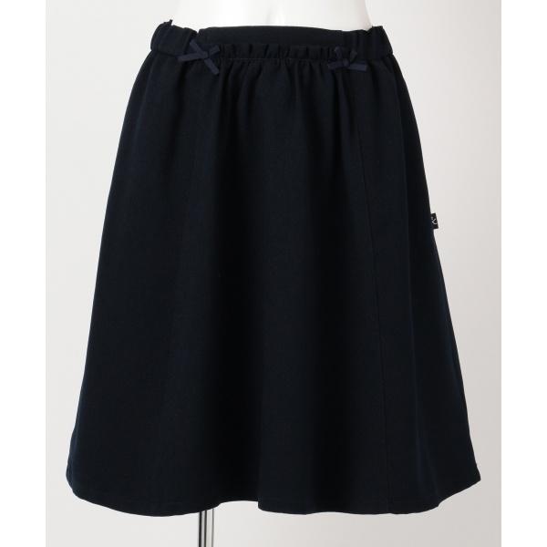 【SCHOOL】ウーリッシュギャザースカート/組曲 キッズ(KUMIKYOKU KIDS)