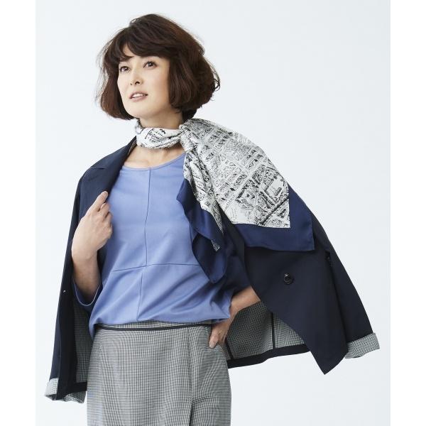 【洗える】オータムチェックジャケット/ジェーンモア Sサイズ(JANE MORE S)