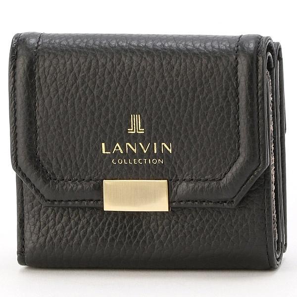 be18cae17d29 COLLECTION) レディース財布 クゥ 三つ折り財布/ランバンコレクション(ウォレット)(LANVIN バッグ・小物・ブランド雑貨 今年も話題の