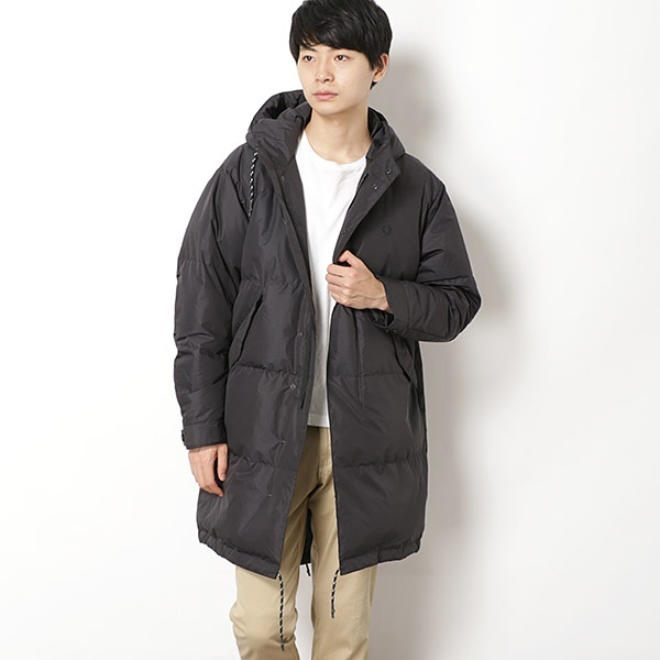 【18AW】DOWN FISHTAIL PARKA/フレッドペリー(メンズ)(FRED PERRY)
