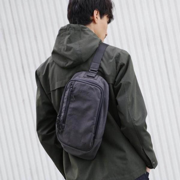 Mバッグ(【 WEB限定 】 ボディバッグ fabric by MINOTECH(R) [ メンズ バッグ ボディバッグ ポーチ 撥水 ]/タケオキクチ(TAKEO KIKUCHI)