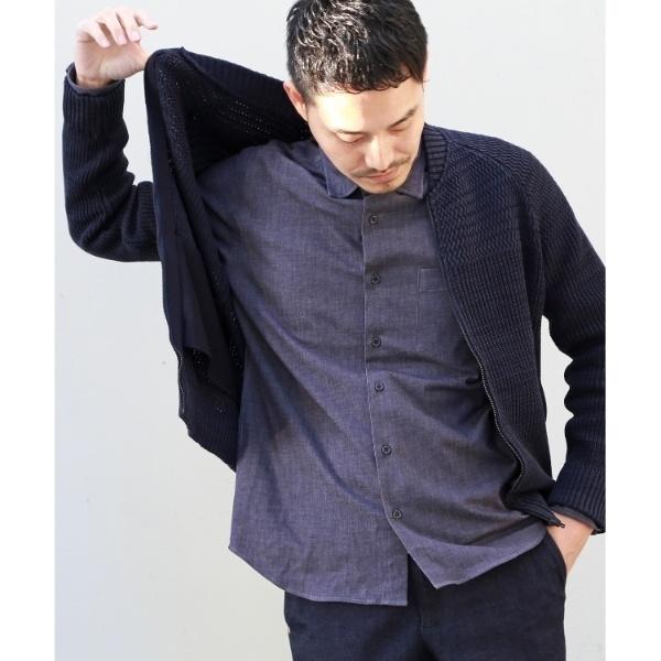 Mカーディ(JACジップニットカーディガン [ メンズ ニット カーデ ])/タケオキクチ(TAKEO KIKUCHI)