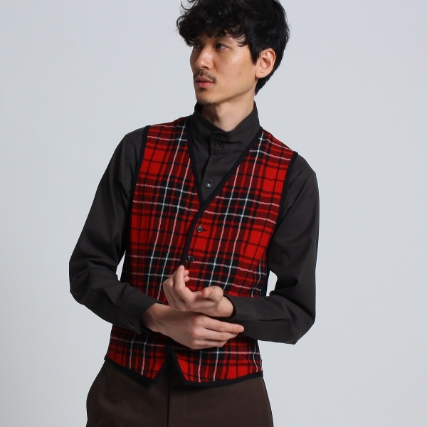 MTシャツ(【PNJ】籠目コンビネーションベスト[ メンズ ニットベスト ])/タケオキクチ(TAKEO KIKUCHI)