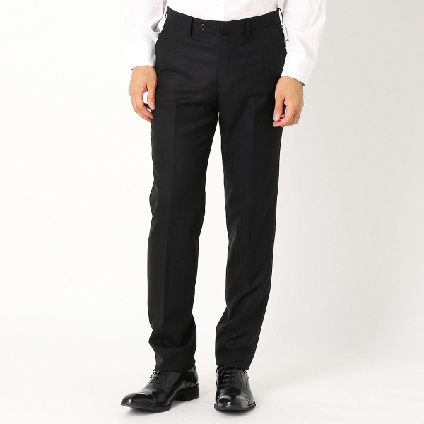 《セットアップ》super140'sヘリンボーン スーツパンツ/コムサイズムメンズ(COMME CA ISM)