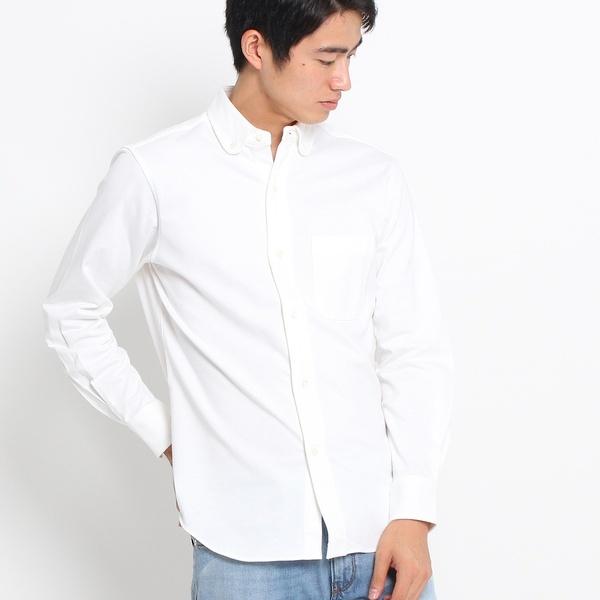 Mシャツ(【洗える】ジャージボタンダウンシャツ)/ドレステリア(メンズ)(DRESSTERIOR Mens)