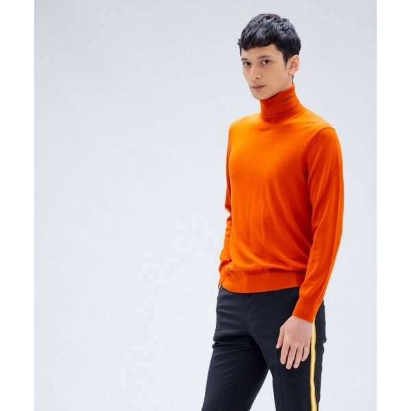 【洗える】ウール タートルネック ニット/カルバン・クライン メン(Calvin Klein men)