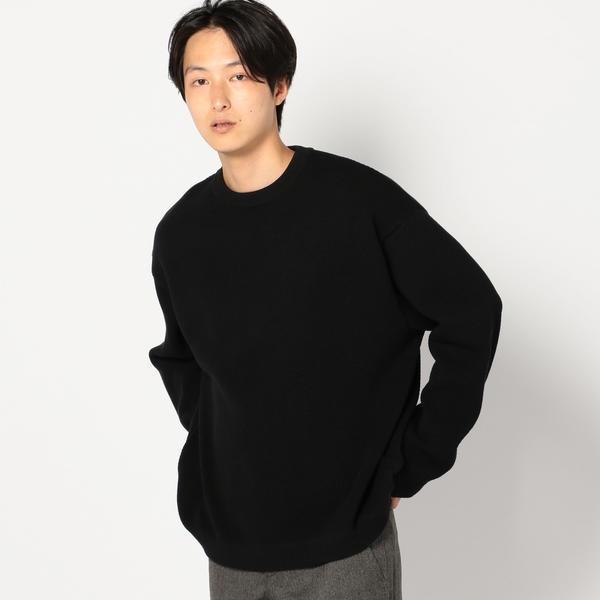 crepuscule: 【MOSS STITCH】 クルーネック ニット/シップス(メンズ)(SHIPS)
