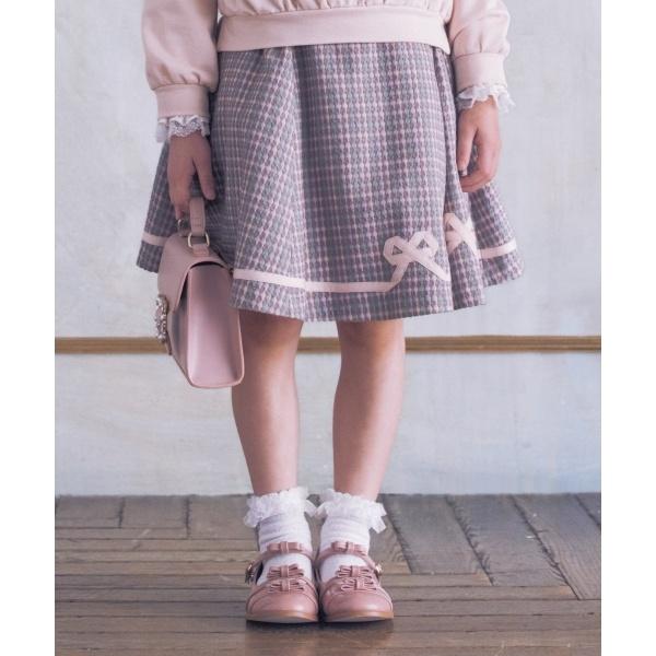 【KIDS】リボンチェック スカート/トッカ バンビーニ(TOCCA BAMBINI)