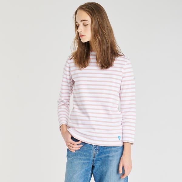【ORCIVAL】コットンロード フレンチバスクシャツ WOMEN/ビショップ(レディース)(Bshop)