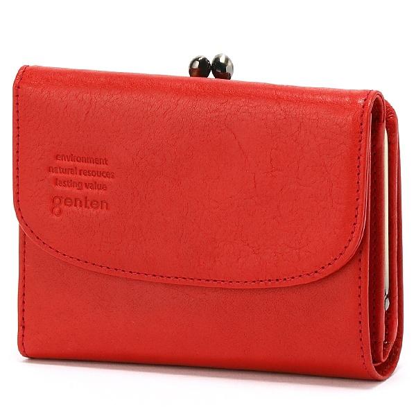 アルバ 二つ折り口金財布/ゲンテン(genten)