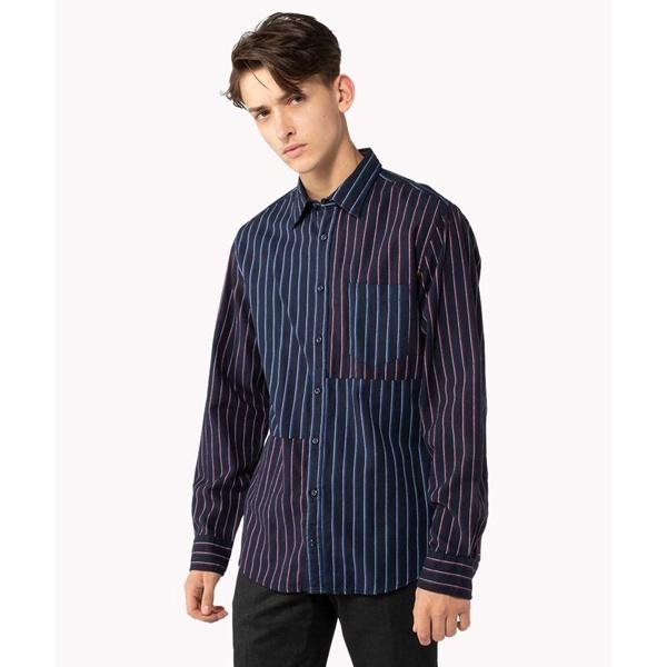 レジメンタルパッチワークシャツ/トミーヒルフィガー(メンズ)(TOMMY), DEFF大きいサイズメンズ:c1f080d8 --- officewill.xsrv.jp