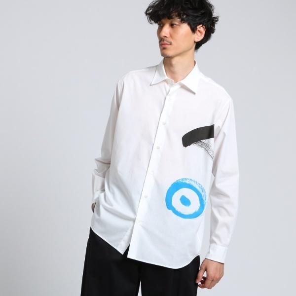 Mシャツ(「明」シャツ[ メンズ コラボ シャツ ])/タケオキクチ(TAKEO KIKUCHI)