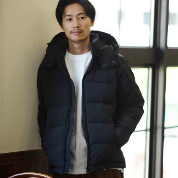 SC: ALLIED FEATHER&DOWN/KOMATSU(小松精練) シングル ダウンジャケッ/シップス(メンズ)(SHIPS)