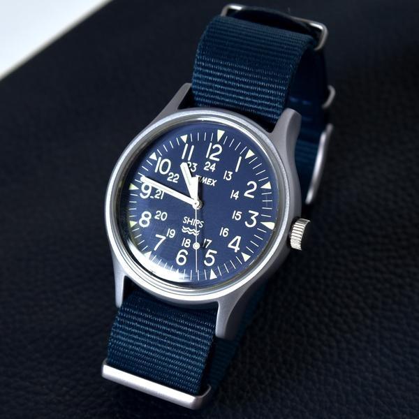 TIMEX(タイメックス): 別注 ネイビー MK1/シップス(メンズ)(SHIPS)