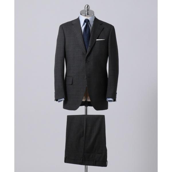 【CUBA BEACH GENTRY】ダブルウィンドペーン スーツ/ジェイ・プレス メン(J.PRESS MEN)