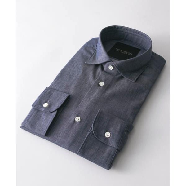 メンズシャツ(URBAN RESEARCH Tailor インディゴショートポイントシャツ)/アーバンリサーチ(メンズ)(URBAN RESEARCH)