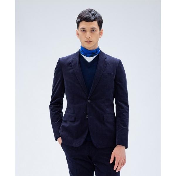 【セットアップ】シャンブレーツイルコールハイパーストレッチ ジャケット/カルバン・クライン メン(Calvin Klein men)