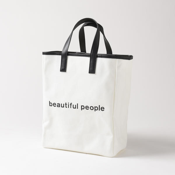 【beautiful people】トートバッグ/ドロワットロートレアモン(Droite lautreamont)