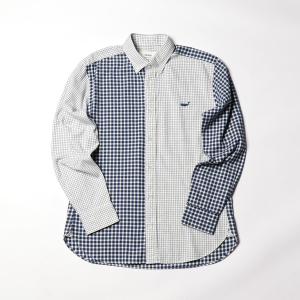 クジラ刺繍ボタンダウンネルシャツ/ノーリーズ メンズ(NOLLEY'S)