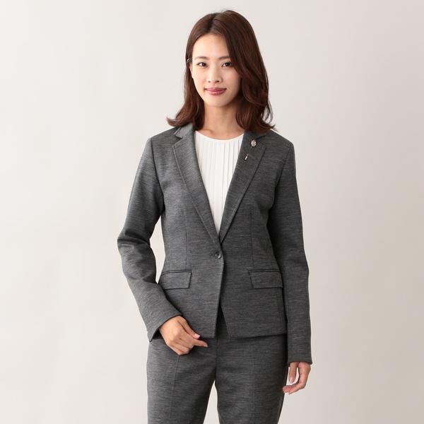 【美Jacket】コンパクトドライポンチテーラードジャケット/トランスワーク(TRANS WORK)