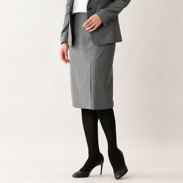 【美Skirt】ファインウールタイトスカート/トランスワーク(TRANS WORK)