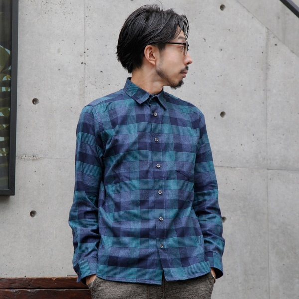 【別倉庫からの配送】 MELROSE)両面ネルチェックシャツ/メンズメルローズ(MEN'S MELROSE), たばや:53976f25 --- business.personalco5.dominiotemporario.com