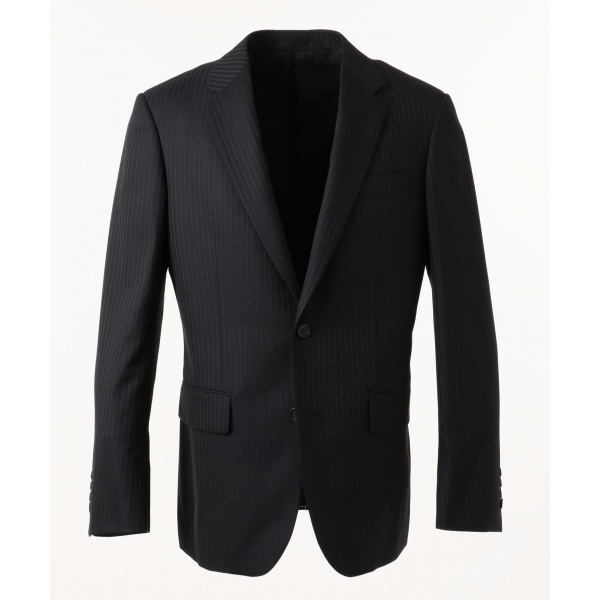 【2018AW新作】ミニスターウールヴィンテージストライプ スーツジャケット/カルバン・クライン メン(Calvin Klein men)